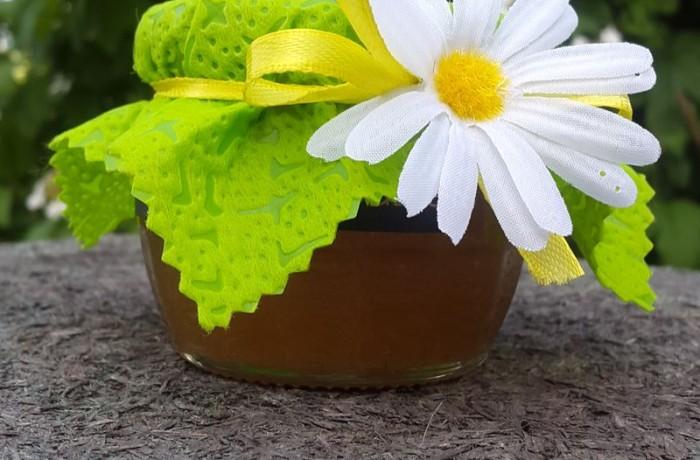 баночка с мёдом на свадьбу