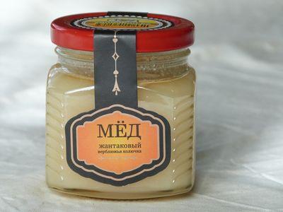 Мёд с верблюжьей колючки ( жантаковый)